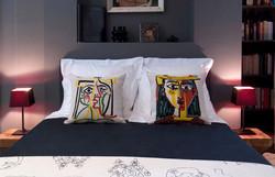 Coussins Picasso Pansu