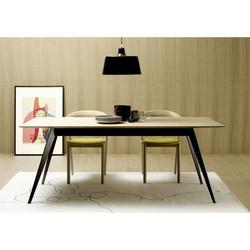 table-aise-plateau-rectangulaire-pieds-metal-ou-bois-treku