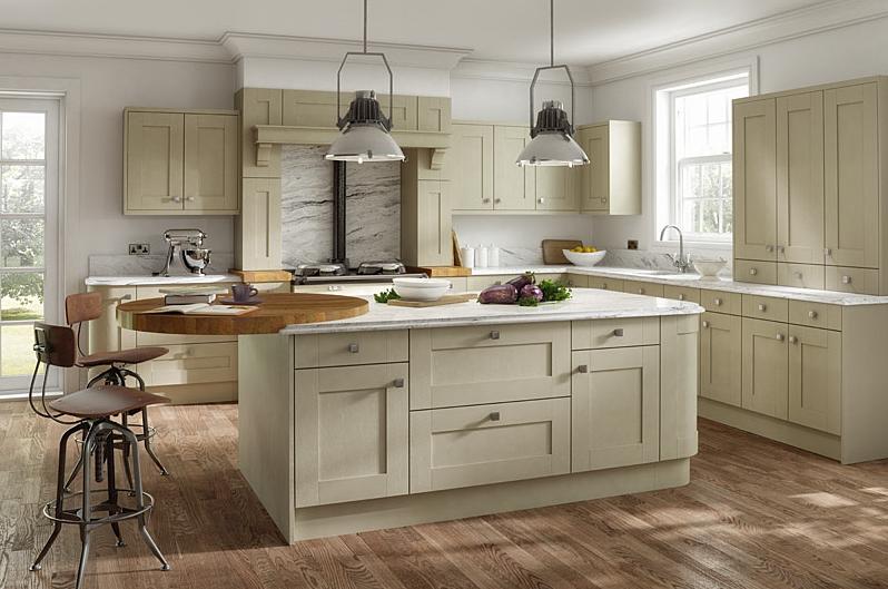 Kitchens In Stoke Express Kitchens | Quadro Dakar Shaker 5 Piece