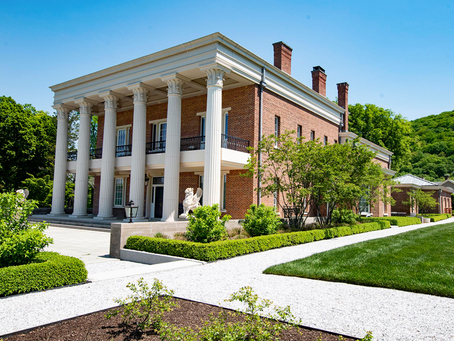 16+ acre Samuel Sloan Estate Highlights Sprawling Gardens and Iconic Swimming Pool Grotto