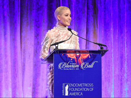 Grammy Nominee, Halsey, Honored at Blossom Ball