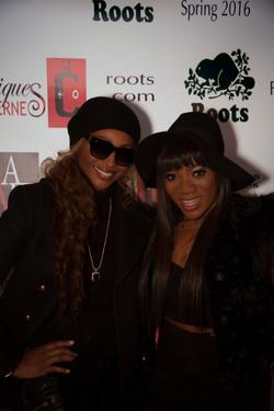 Cynthia Bailey & Tiffany Williams