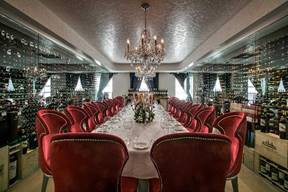 Host your Holiday Gatherings and Exclusive Events in the Private Rooms of Greenwich Steakhouse