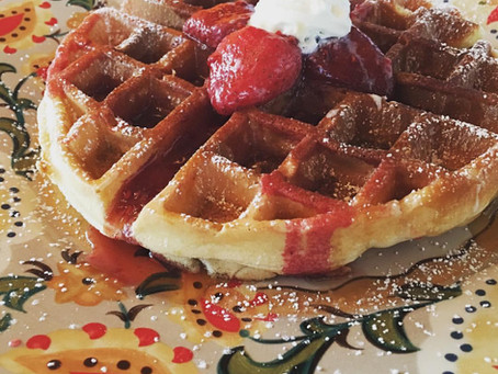 Weekend Eats: Belgian Waffles