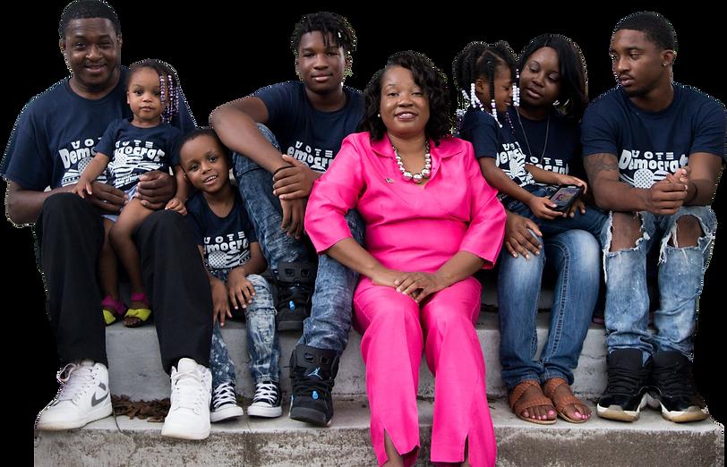 Tabitha Johnson-Green family