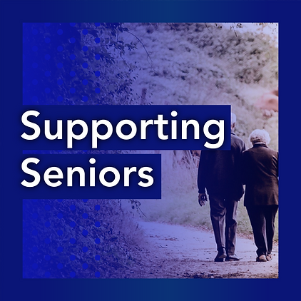 Tabitha Johnson-Green - Supporting Seniors