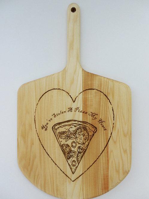 Pizza Lover Basswood Pizza Peel