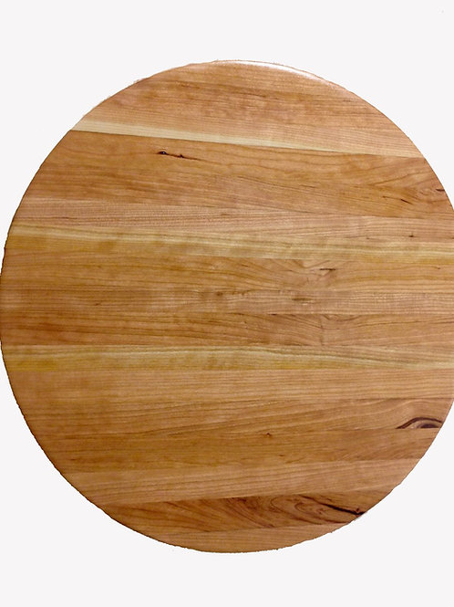 Round Cherry Cutting Board