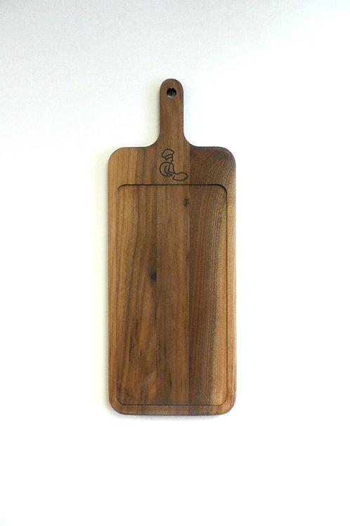 Walnut Flatbread Board