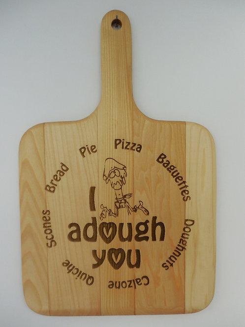 """""""Bread Lovers"""" Basswood Breadboard"""