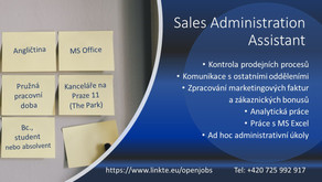 Sales Administration Assistant
