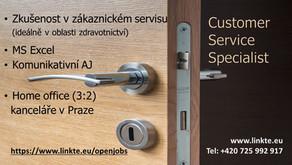 Customer Service Specialist / Podpora servisních techniků