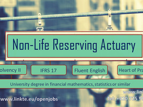 Non-Life Reserving Actuary