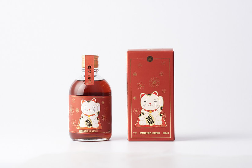 Holy招財貓:桂花梅酒