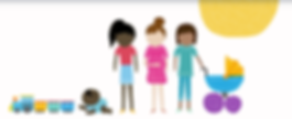 families, babies, children of color, preschool
