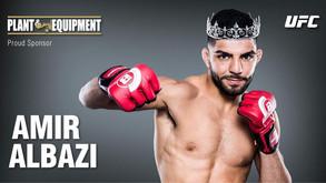 P&E is the Proud Sponsor of UFC Fighter - Amir Albazi