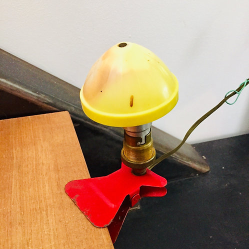 """Lampe à pince """"Champignon"""""""