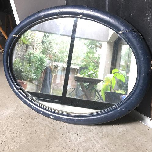 """Miroir ovale """"Art déco"""""""