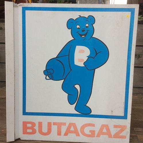 Plaque Butagaz