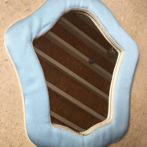 Miroir tissu molletonné