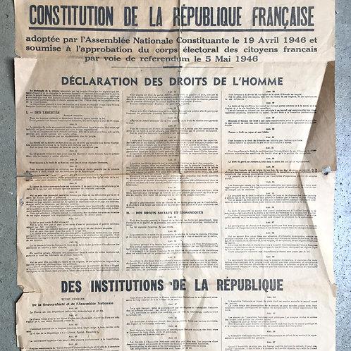 Constitution de 1946