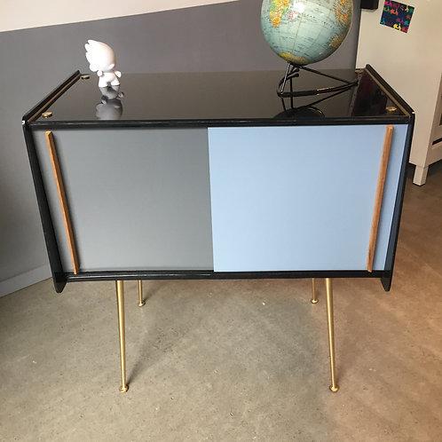 Meuble bar en verre Compas