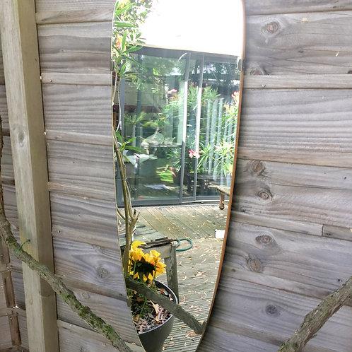 Grand miroir forme libre