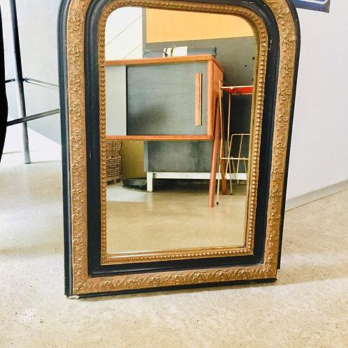 Miroir Louis Philippe Noir/doré