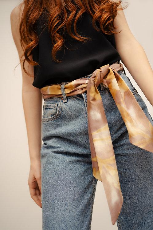 Silk Maxi Twilly - Tie-Dye