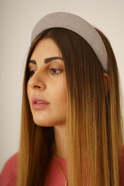 Kate Padded Headband - White Ivory