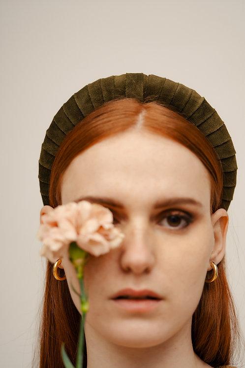Clara Padded Headband - Olive