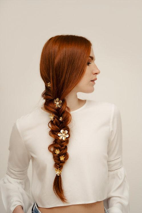 Floral Hairpins set (3 PZ)