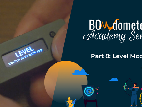 What is Level Mode on the BOWdometer and how does it work?