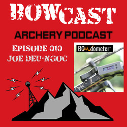 Bowcast Archery Podcast features BOWdometer