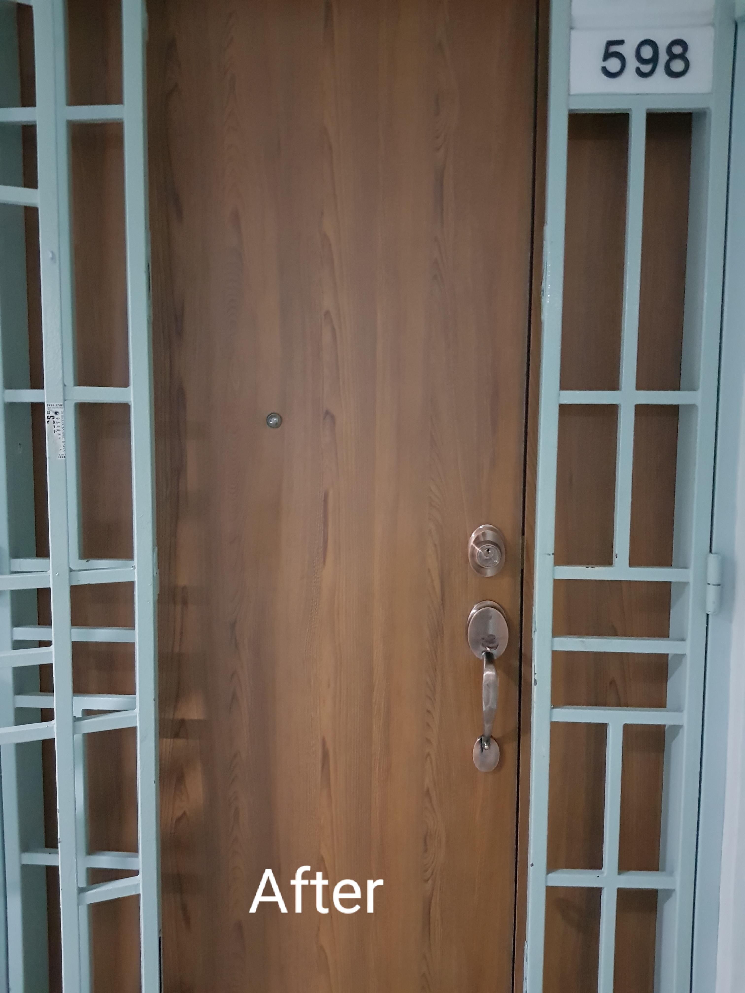 Main Door Relamination