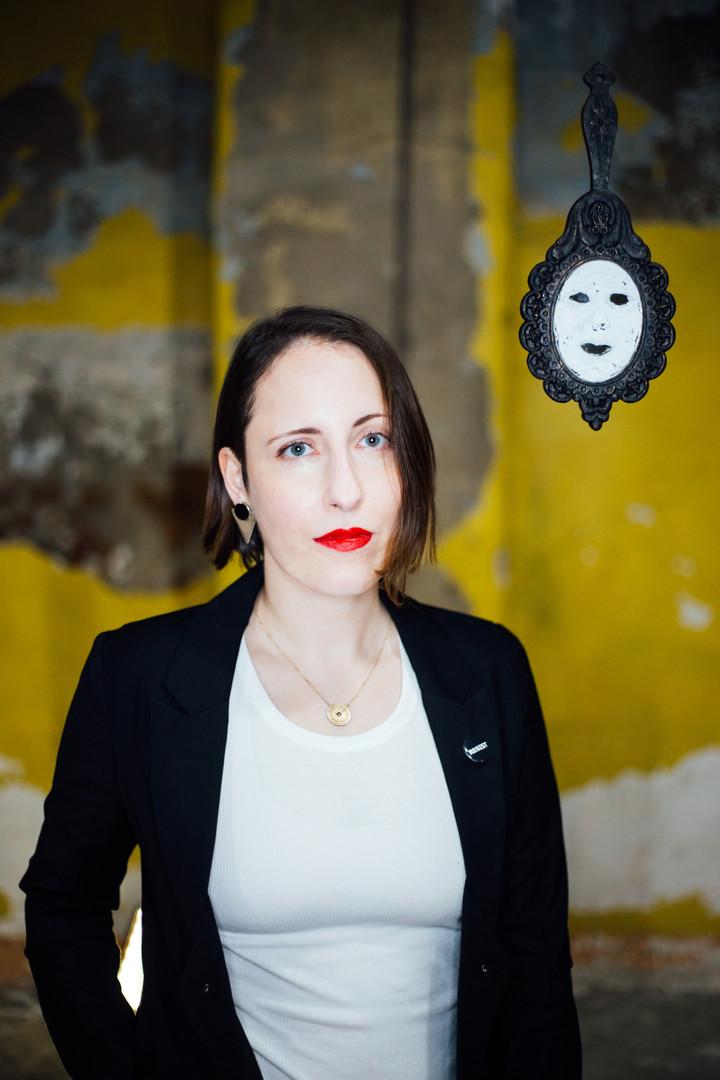 Lea Wülferth with 'White Mask' (2020)
