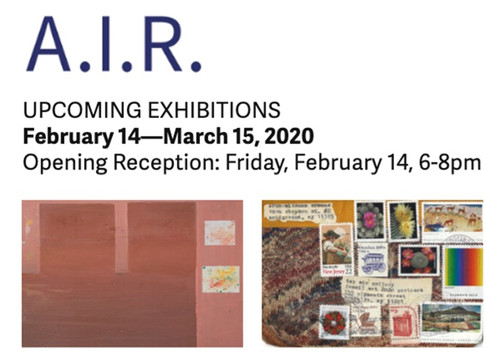 A.I.R. Gallery's Fe * Mail * Art: 2020 Postcard Exhibition Opens February 14