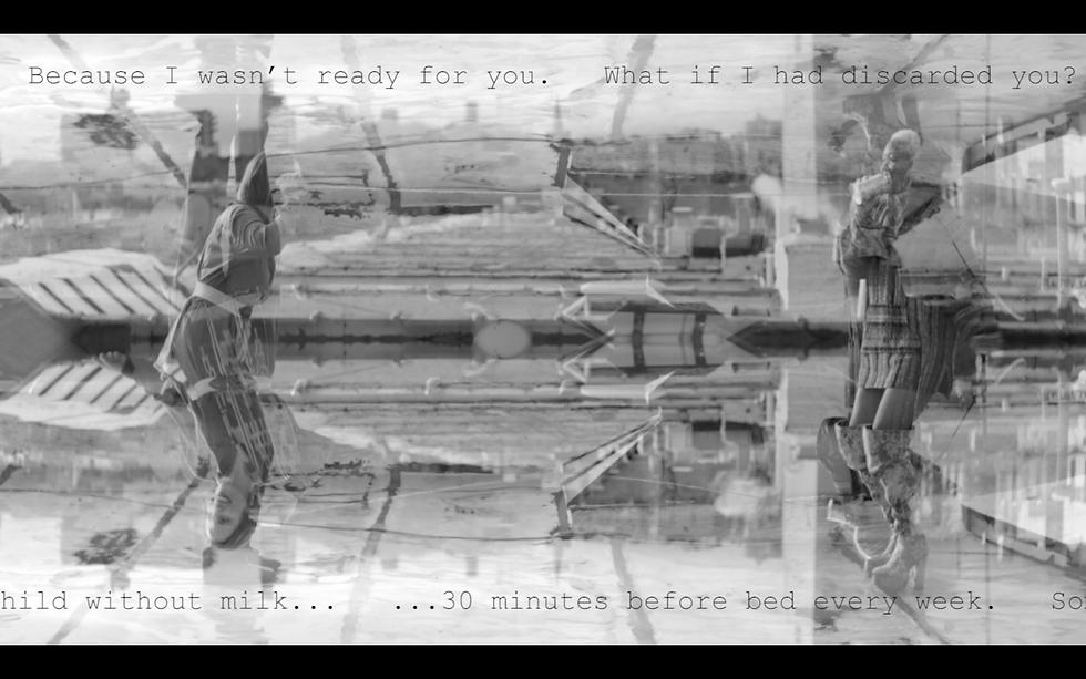 Still from #6 Feet Apart film