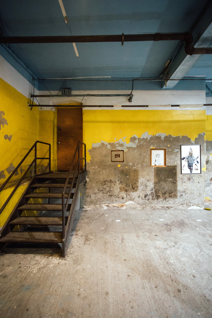 Lea Wülferth's works suspended at Phase IV art exhibition