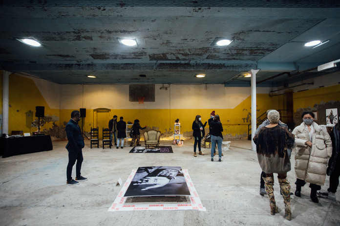 Phase IV art exhibition at Gymnopedie, Brooklyn 12.06.2020