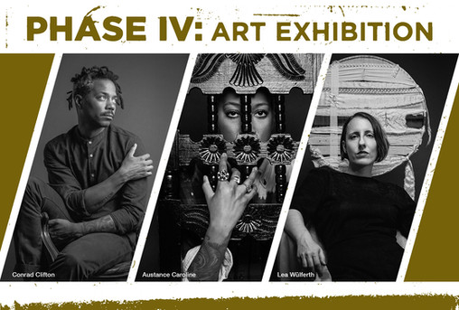 Phase IV Art Exhibition postcard