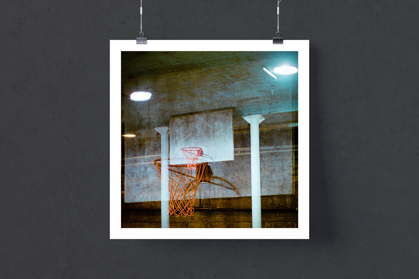 Through Hoops (2020) by Conrad Clifton