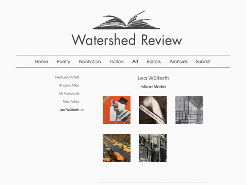 Watershed Review Publishes Mixed Media Art