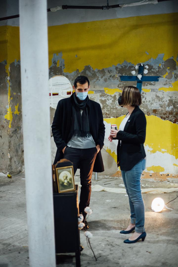 Conversation with artist Lea Wülferth at Phase IV art exhibition