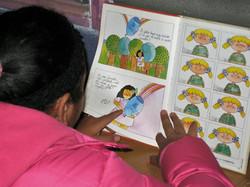 La imaginación viaja mientras leo.