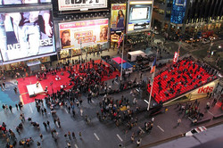 Art Fest in Times Square