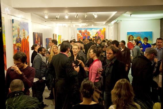 Luis Burgos Art Exhibition