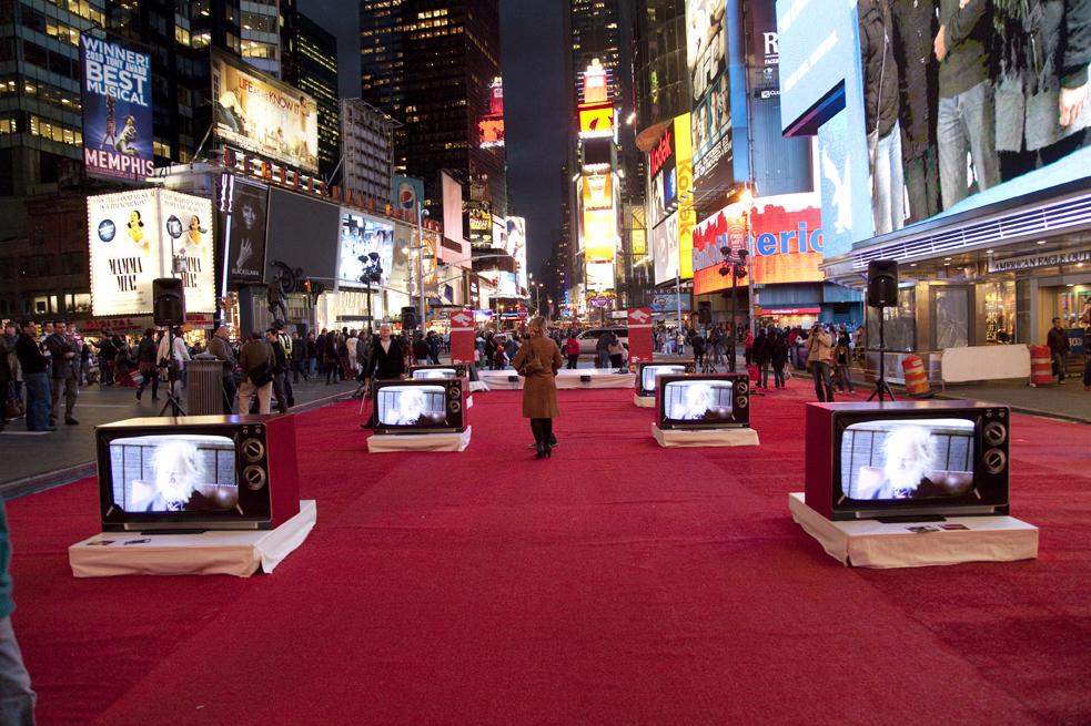 Art Festival in Times Square