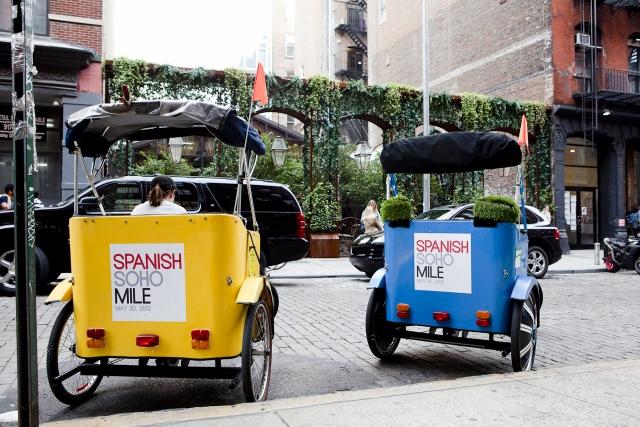 Spanish Soho Mile, the stores