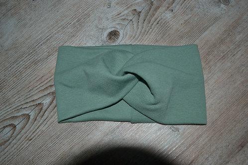 Stirnband/Haarband Feinstrick mint, KU 52-57cm